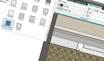 Create custom hatches in AutoCAD
