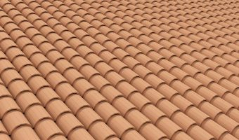 How to create geometry roof tiles in 3ds Max