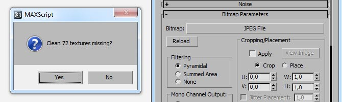 6 script for finding and organizing missing textures in 3ds Max