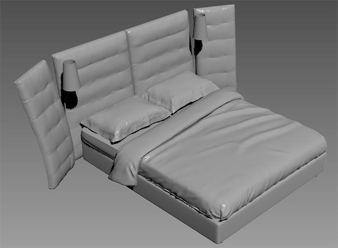Download Free 3d Models Of Beds From Flou