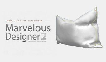 Как да моделираме възглавница с Marvelous Designer