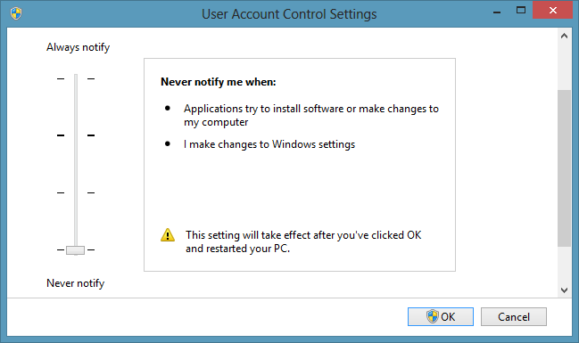 How to get back Drag and Drop in Windows 8