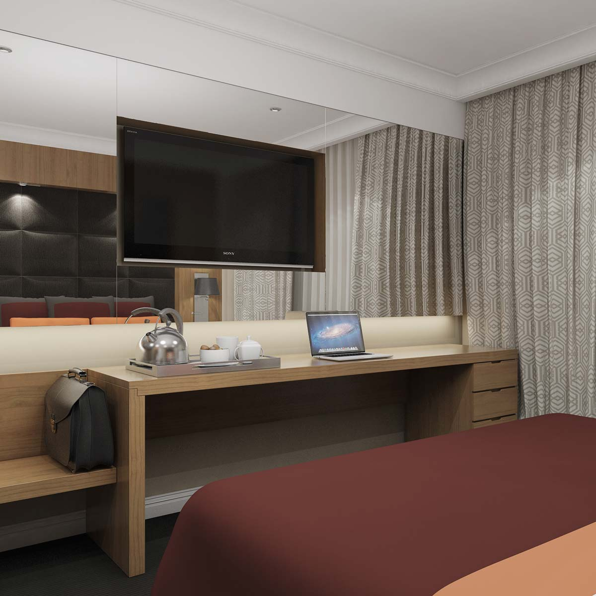 Проект за хотелска стая