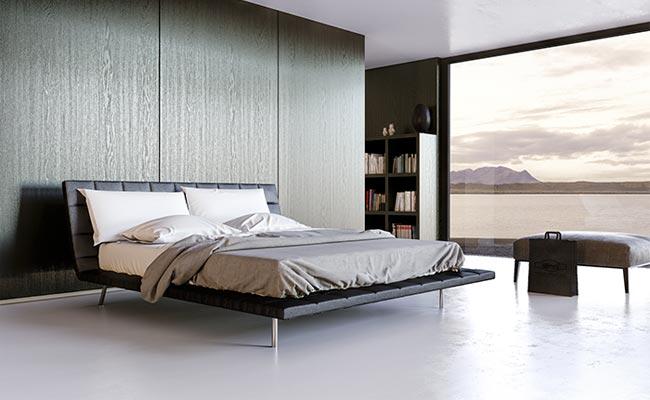 3Д модел на легло от Poliform