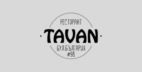 Restaurant Tavan - Sofia