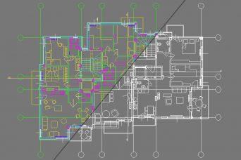 Запазване на цветовете на обектите при вмъкване на dwg файл в 3ds Max и преместването им в нов слой